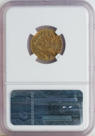 1796 $2 1/2 Draped Bust NGC XF40