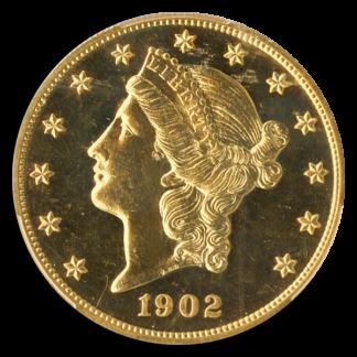 $20 LIBERTY 1902 PCGS