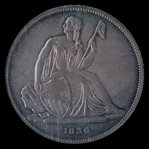 Gobrecht $1 Obverse Seated Liberty