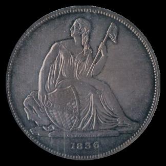 1836 Gobrecht $1 NGC Proof 61