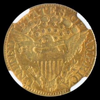 1802/1 $5 Draped Bust NGC XF45 CAC