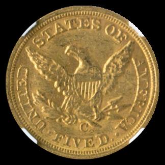 1860-C $5 Liberty NGC MS60