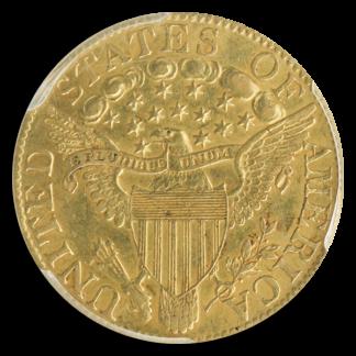 1803/2 $5 Draped Bust PCGS AU58