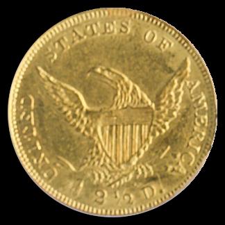 $2 1/2 CLASSIC 1839-D