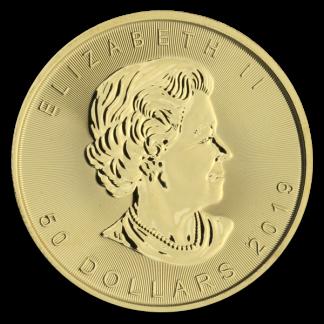 1 oz Canadian Gold Maple Leaf (BU, Dates Vary)