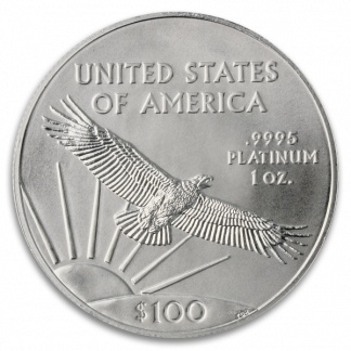 Any Date 1 oz American Platinum Eagle (BU, Dates Vary)