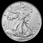 2021 1 oz Silver Eagle NGC ER