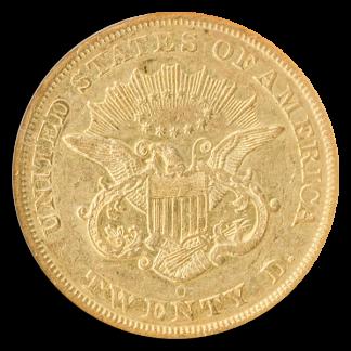 $20 LIBERTY 1850-O