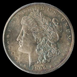 1904 Morgan $1 PCGS MS65 CAC