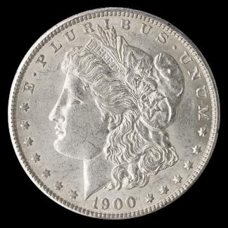 Pre-1921 Circulated American Silver Morgan Dollar (Dates Vary)