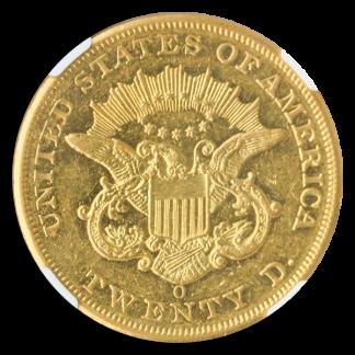 $20 LIBERTY 1852-O TY1