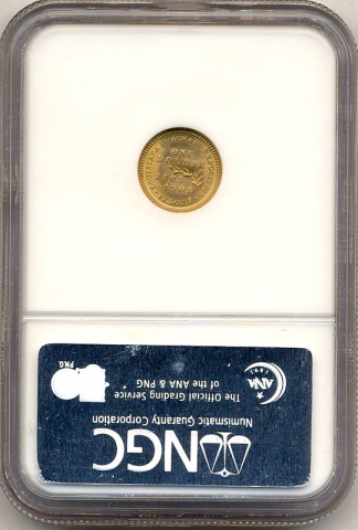 1903 McKinley Gold Commemorative $1 NGC MS67 CAC