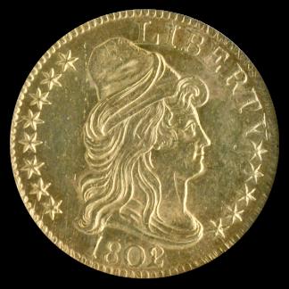 1802/1 $5 Draped Bust NGC MS62