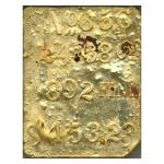 Kellogg & Humbert GOLD BAR SSCA PCGS #656     24.58 oz  .892 fine   $453.23