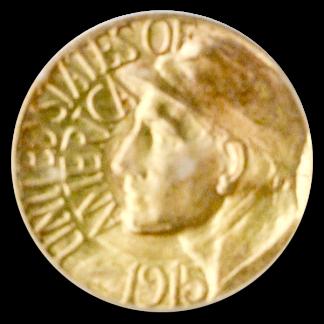 1915-S  Panama Pacific Gold Commemorative $1 PCGS MS65