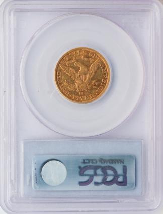 1881-CC $5 Liberty PCGS AU53 CAC