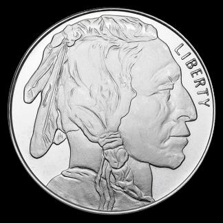 1 oz American Silver Round (BU, Types Vary)