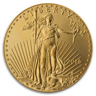 1 oz American Gold Eagle Coin (BU, Dates Vary)