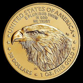 2021 1 oz American Gold Eagle Coin (BU, Type II)