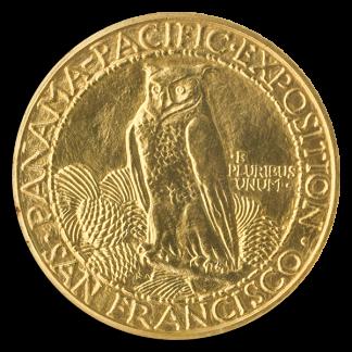 1915-S $50 Panama Pacific Round NGC MS62 CAC