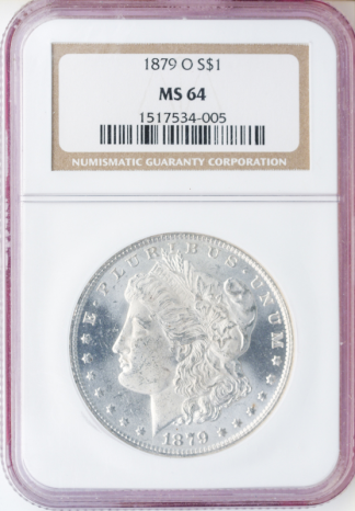 1879-O Morgan $1 NGC MS64