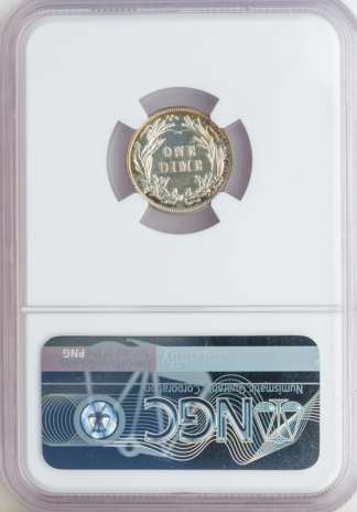 1900 Barber Dime NGC PR66 CAC