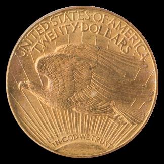 1911-D $20 Saint Gaudens PCGS MS65 CAC