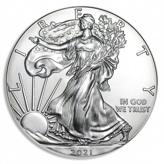 2021(P) 1 oz American Silver Eagle MS70 Emergency Release PCGS (Tpes Vary)