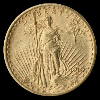 $20 Saint Gaudens XF