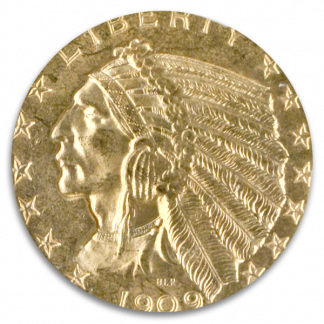 $5 Indian Certified MS64 CAC