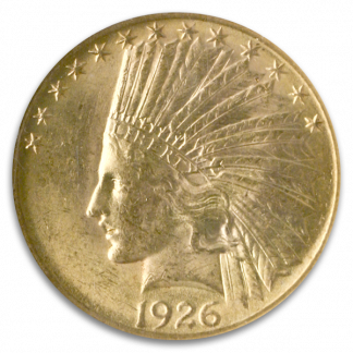 $10 Indian Certified MS62