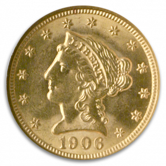 $2 1/2 Liberty Certified MS62