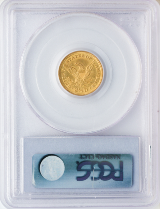 $2 1/2 Liberty MS64 Certified