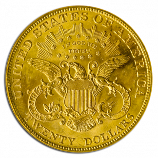 $20 Liberty Certified MS65