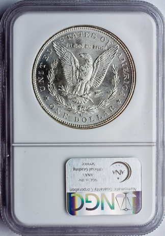 Morgan $1 Certified MS65