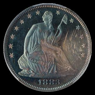 1883 Seated Liberty Half Dollar PCGS PR67 CAC