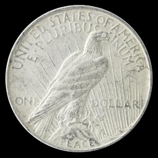 Circulated American Silver Peace Dollar