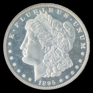 1895 $1 Morgan NGC PR67 Cameo CAC