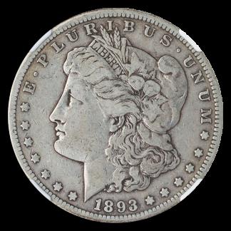 1893-CC Morgan $1 NGC Fine 15 CAC