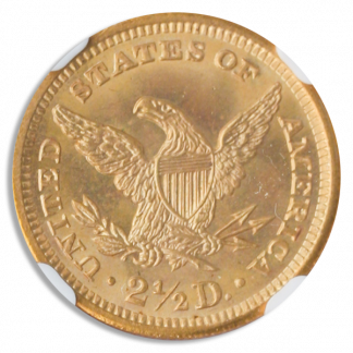1905 $2.50 Liberty NGC MS67 CAC