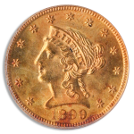 1899 $2 1/2 Liberty PCGS MS63 CAC