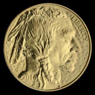 1 oz American Gold Buffalo (Dates Vary, BU)