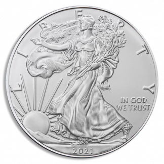 2021(S) 1 oz American Silver Eagle MS70 Emergency Release PCGS (Types Vary)
