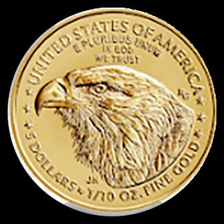 2021 1/10 oz American Gold Eagle PCGS First Strike Type II