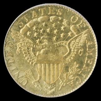 1802/1 $2.50 Draped Bust PCGS AU55