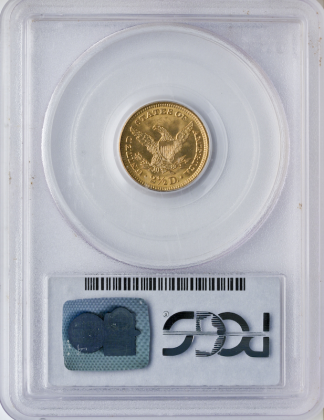 $2 1/2 Liberty Certified MS64 CAC
