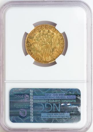 1800 $5 Draped Bust NGC MS60 CAC