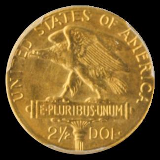 1915-S $2 1/2 Panama Pacific Gold Commemorative PCGS MS64 CAC