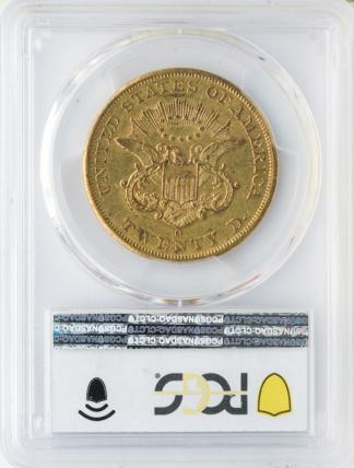 1852-O $20 Liberty PCGS AU55 CAC