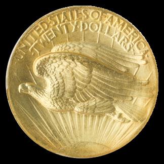 1907 $20 Saint Gaudens High Relief PCGS MS66 CAC
